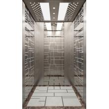 Machine Room Passenger Elevator Etched Cabin