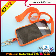2015 Newest polyester strap custom mobile phone security strap