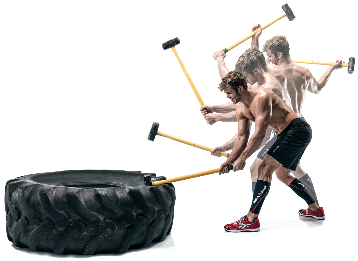 crossfit workout sledge