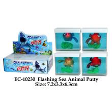 Funny Flashing Sea Animal Putty Toy
