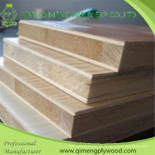 Fornecer profissionalmente a madeira compensada da placa do bloco da melamina com bom preço