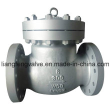 Flange End Swing Check Valve with Carbon Steel RF