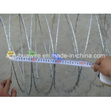 Hot Dipped Galvanized Razor Barbed Wire (factory)