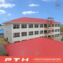 Entrepôt préfabriqué industriel industriel à faible coût de structure métallique