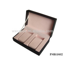 popular leather watch box for 2 watches wholesales from China manufacturer