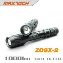 Antorcha de luz de montaje táctico Maxtoch ZO6X-2 hacer una linterna de LED Super brillante