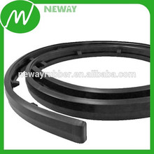 Color Negro Material de caucho Material Parachoques Tira
