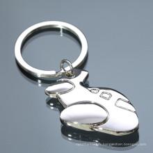 Vente en gros porte-clés en métal personnalisé de haute qualité