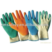 Palm Crinkle Latex Coated Gloves