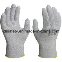 Углеродного волокна порезов работы перчатка (PC8103)