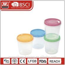 Пластиковая еда контейнер, пластмассовые изделия (0,67 Л)
