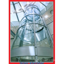 Панорамный лифт марки Blue Light Motor с автоматическим спасательным устройством