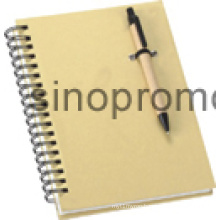 Notebook with Ball Pen Gift Notebook (MN9046)