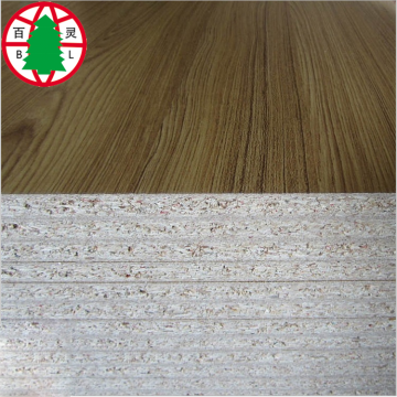 wholesale 9 to 30mm Melamine Particle Board Chipboard for furniture