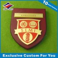 Fashionable School Award Wooden Plaque