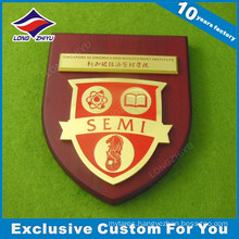 High Quality Custom Red Wooden Plaque