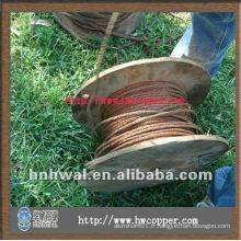 Câble de fil de cuivre pour tapis de terre