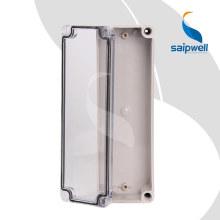 Boîte de boîtier électrique étanche / couvercle transparent / couvercle transparent