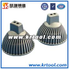 Zamac de alta calidad a presión fundición para piezas de iluminación LED