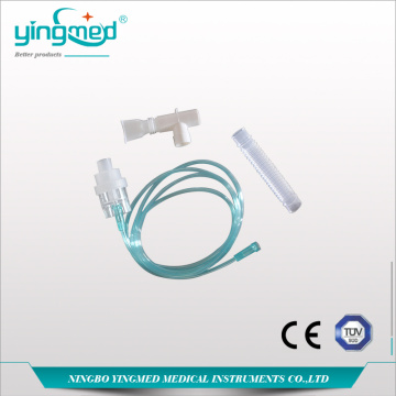 Medical Disposable Nebulizer Mask dengan corong