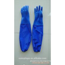 Langarm-PVC tauchte wasserdichter Handschuh