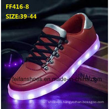 Latest Men Fashion LED Light Shoes Leisure Sport Shoes (FF416-8)