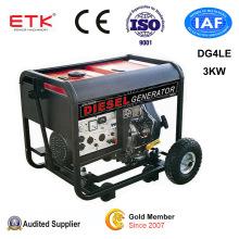 3kw Diesel Generator Set (CE&ISO9001)
