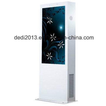 Elevado brilho de 55 polegadas que anuncia a grande exposição exterior do LCD
