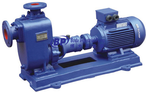ZX centrifugal chemical self-priming pump