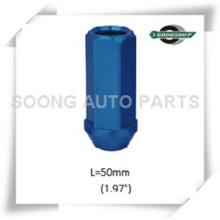 Racing 6061 Aluminum Wheel Lug Nuts Colored Aluminum Wheel Lug Nuts