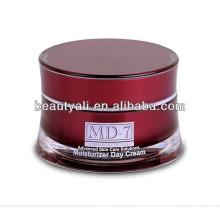 Tarro de cosméticos acrílico para el cuidado de la piel 10ml 25ml 30ml 50ml