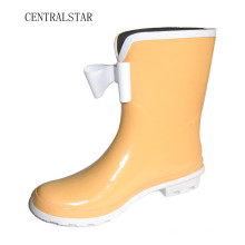 Pretty Women Rain Boots with Front Bowknot Rab3012