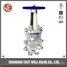 Weir knife gate valve