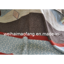 100%Pure Wool Travel Blanket for Promotion Gift with Jacquard Design