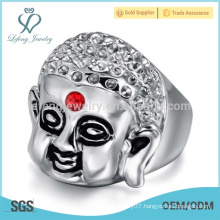 Trendy style tibetan ring,skull punk ring design, 15 years ring pictures
