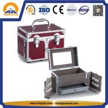 Caixa de maquiagem e joias com espelho Hb-1301