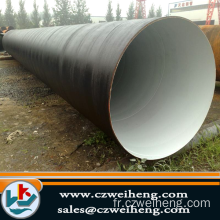 AWWA C210 a105 BIG SIZE SPRIAL STEEL PIPE