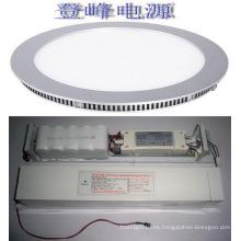 Smd2835 Panel de led de emergencia de 18w round