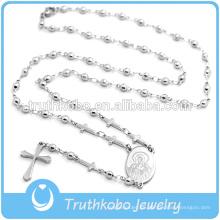 El último collar de cuentas de rosario estilo brillante 2016 con cruz en venta