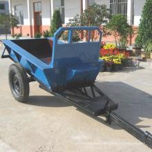 7C-1.5H single axle two wheels walking tractor trailer