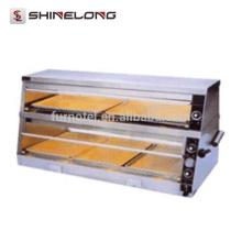 K285 Showcase de exibição de 2 camadas da mesa quente