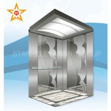 Elevador de elevador de aço inoxidável para 13 passageiros
