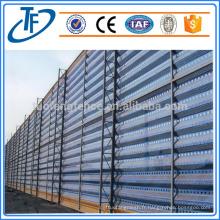 Vente directe de murs de vent ou de poussière, clôture anti-vent, mur de rupture de vent avec stock de masse
