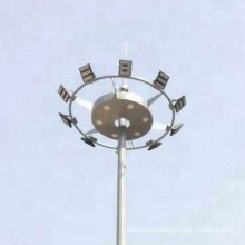 new arrival hot dip galvanized automatic lifting types high mast poles lighting towers