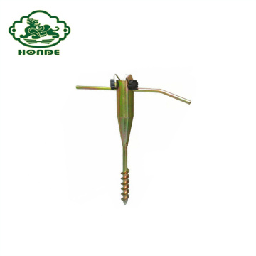 Umbrella için Groud Spike Metal Vida Tabanı