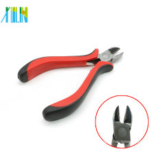 Diagonal Cutting Plier With Red Handle for Wire Cutters , ZYT0003