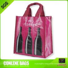 PP Woven Bottle Holder Bag (KLY-PP-0392)