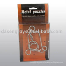 Металлическая игрушка-головоломка