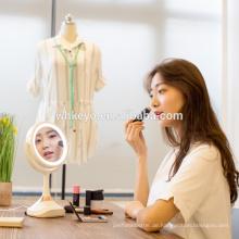2017 hot new design dekorative lupe bluetooth lautsprecher makeup spiegel