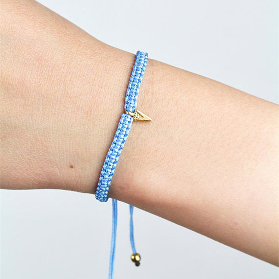 Simple Handmade Rope Six Star Girl Bracelets